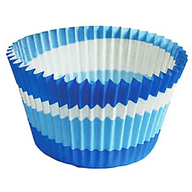 Blue Swirl Jumbo Baking Cup