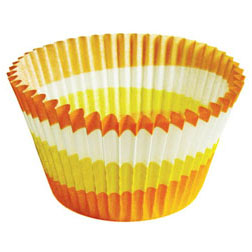 Orange Swirl Jumbo Baking Cup