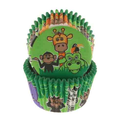 Jungle Time Standard Baking Cups