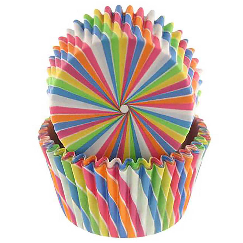 Rainbow Swirl Standard Baking Cups