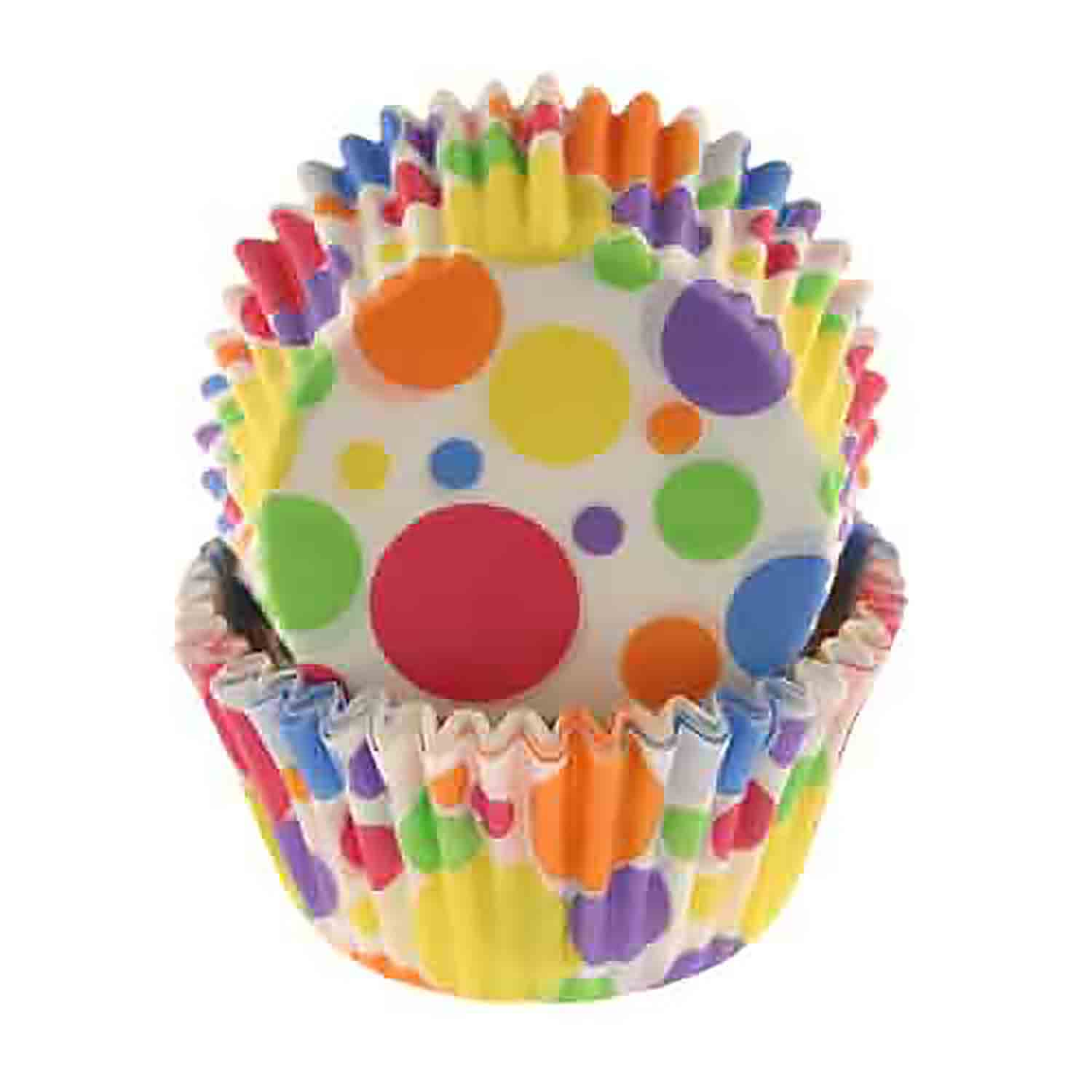 Rainbow Dots Standard Baking Cups