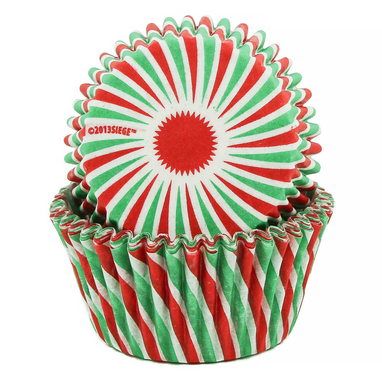 Christmas Swirl Standard Baking Cups