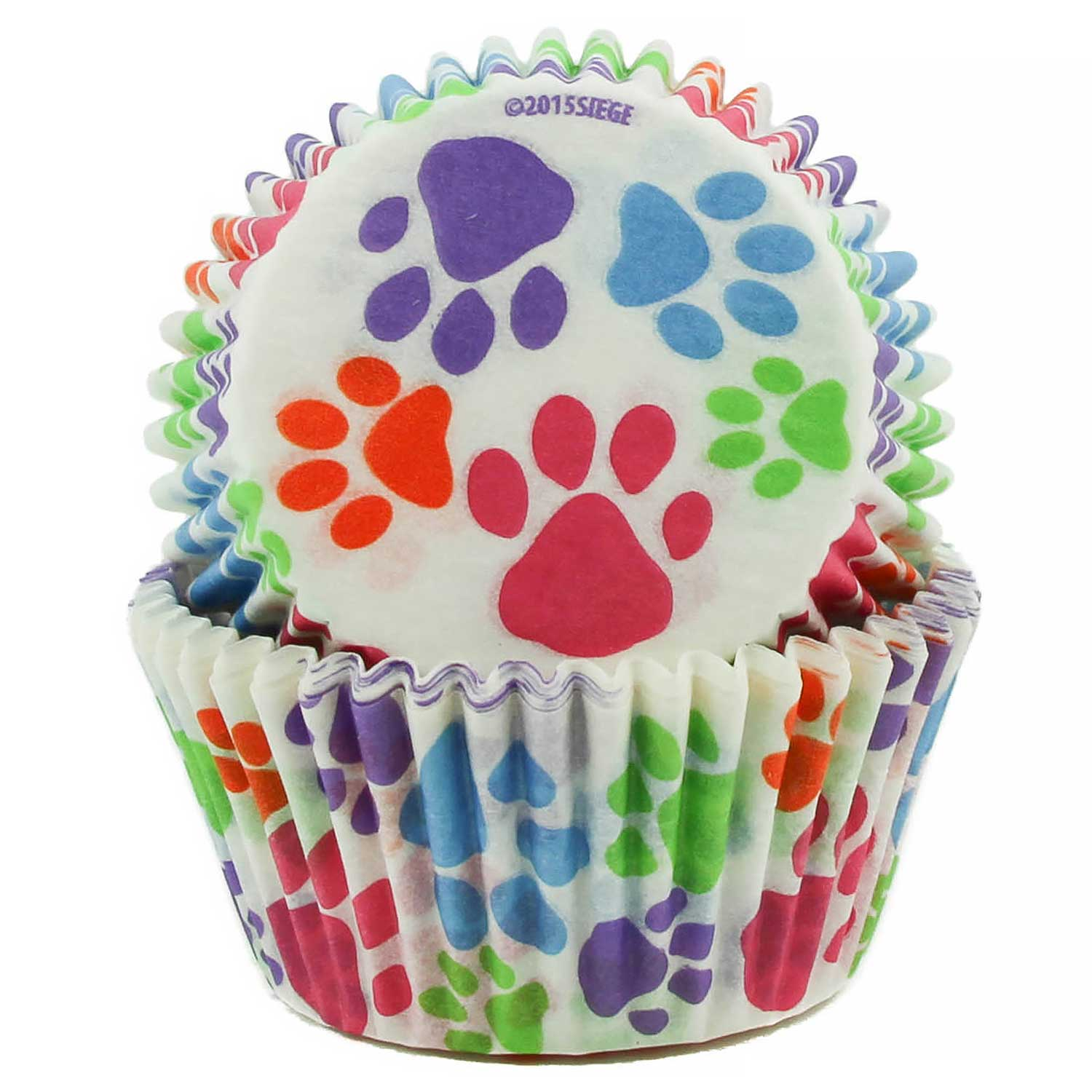 Paw Prints Standard Baking Cups