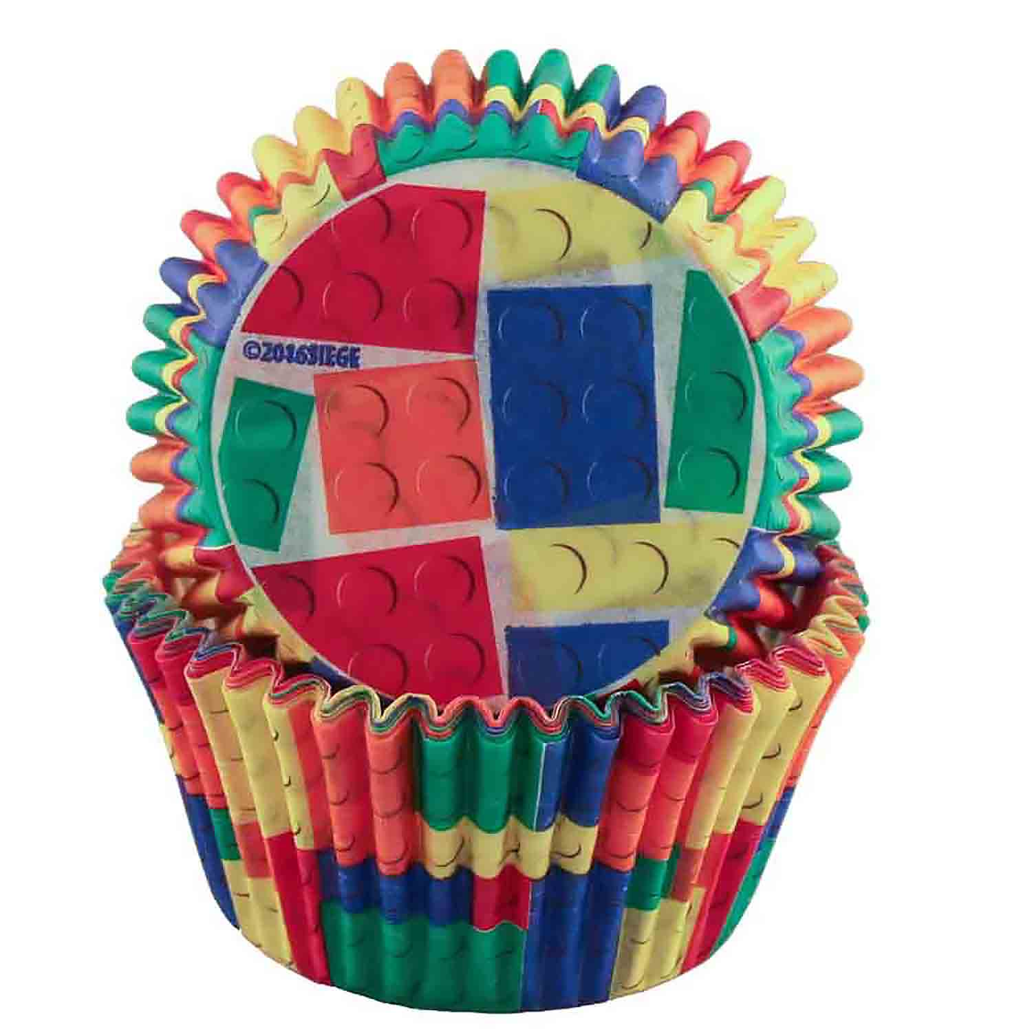 Building Blocks Standard Baking Cups