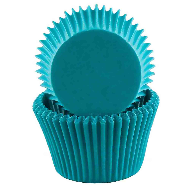 Turquoise Jumbo Baking Cups