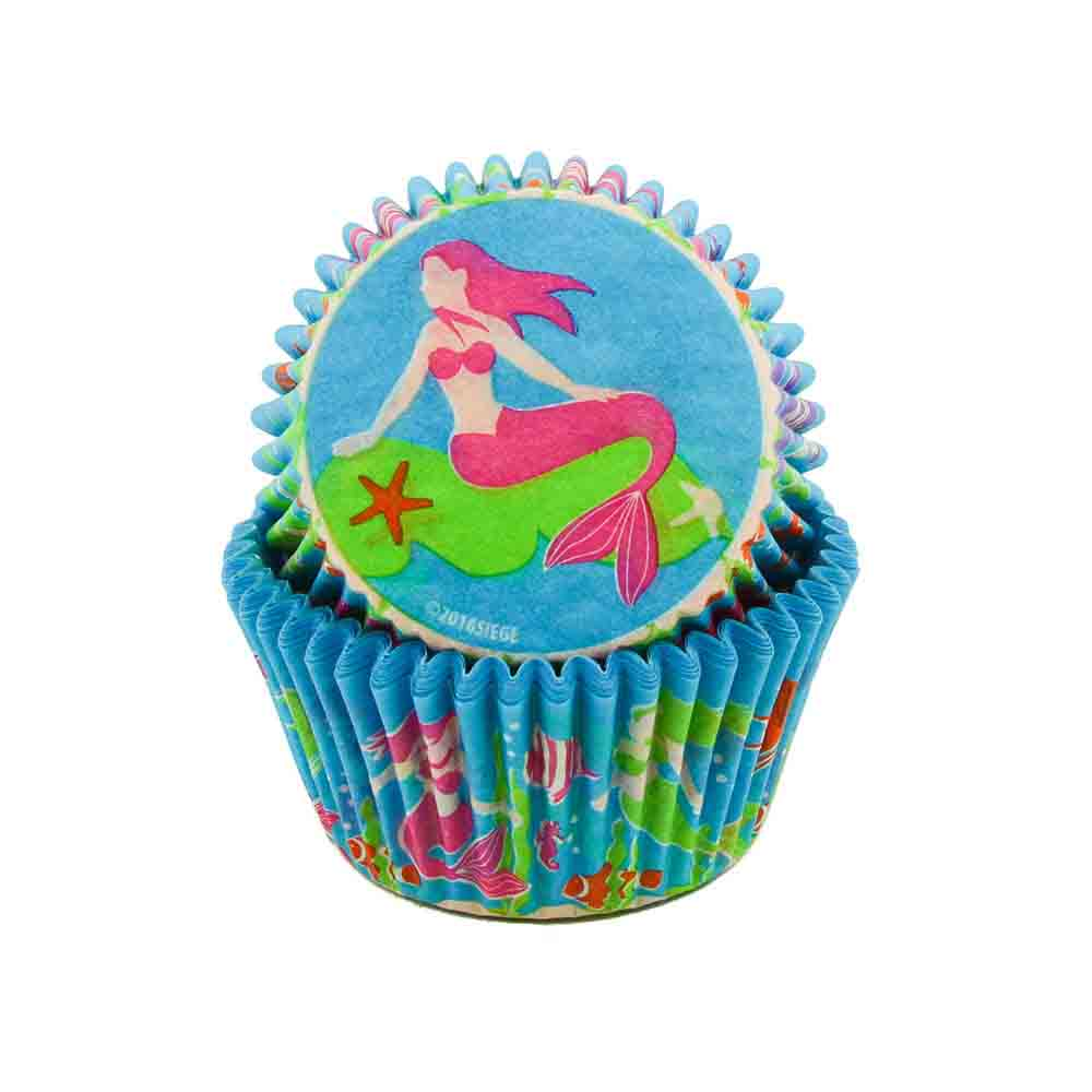 Mermaids Standard Baking Cups