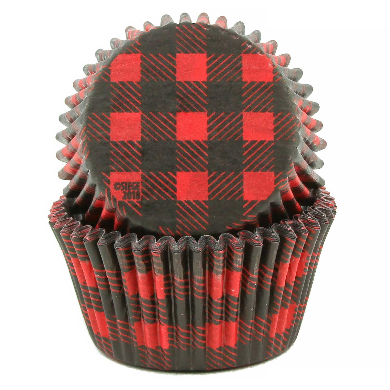 Buffalo Plaid Standard Baking Cups