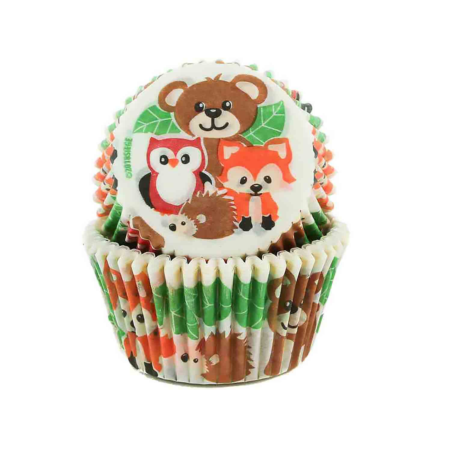Woodland Friends Standard Baking Cups