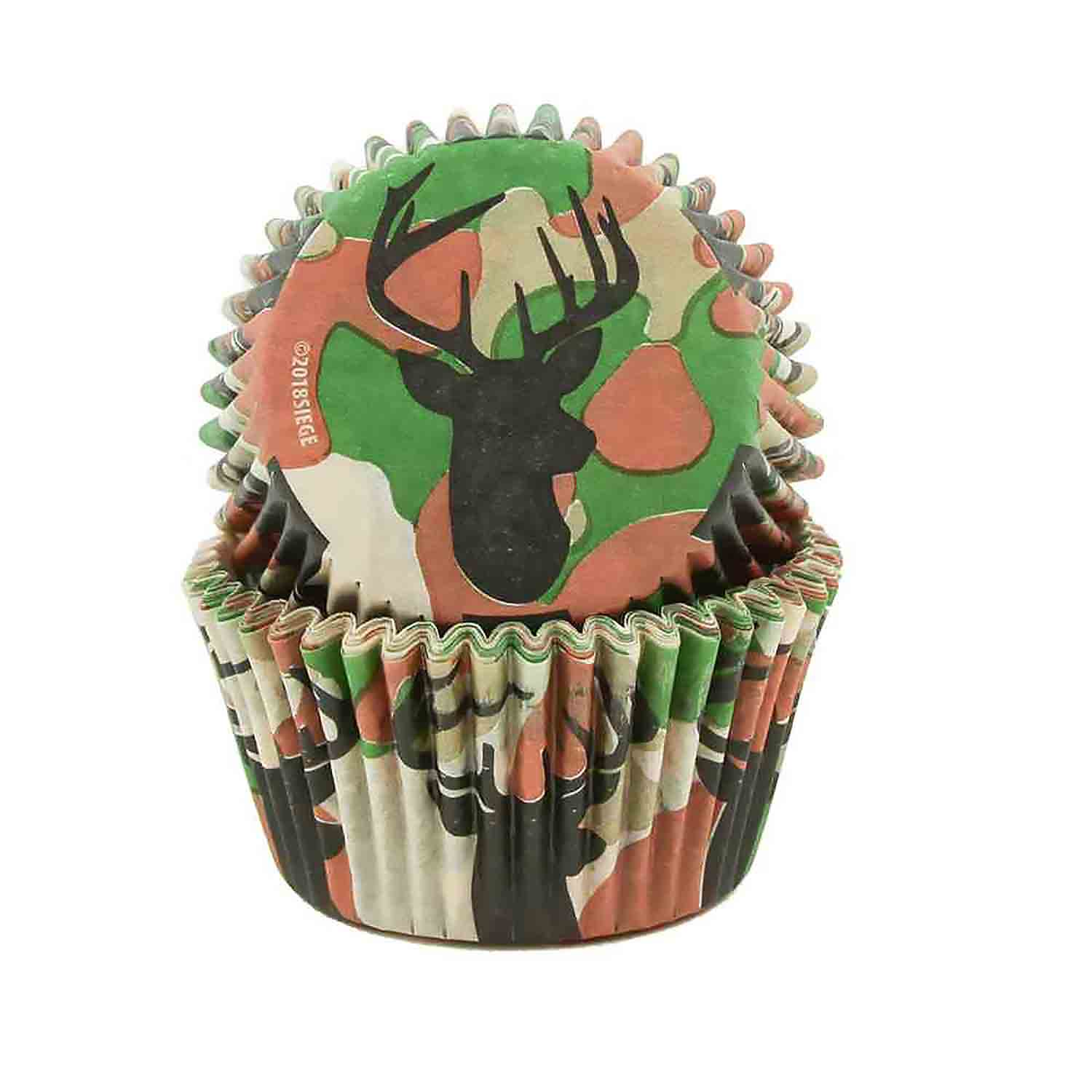 Deer & Camo Standard Baking Cups
