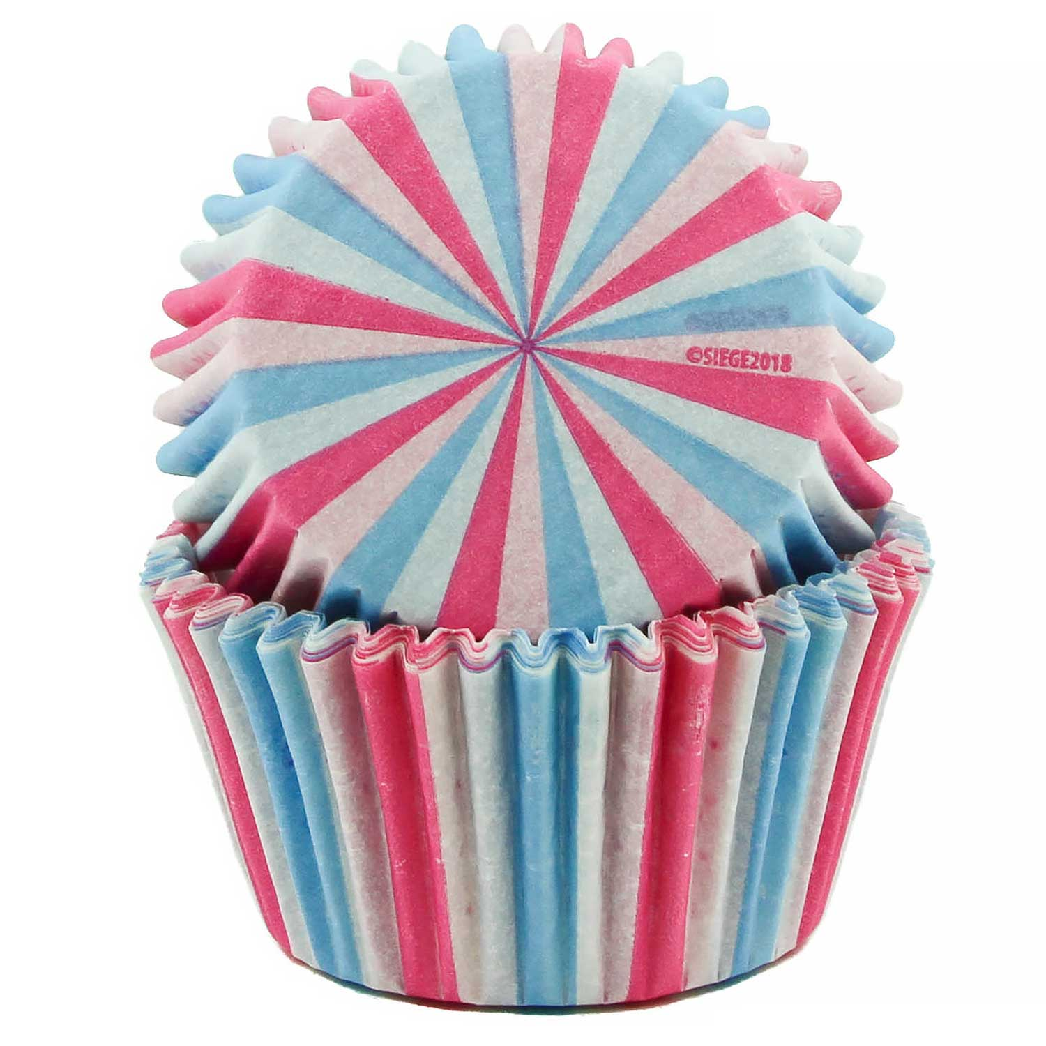 Reveal Stripes Standard Baking Cups