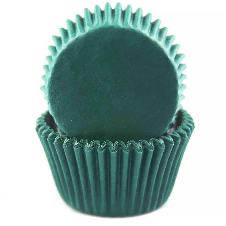 Hunter Green Standard Baking Cups