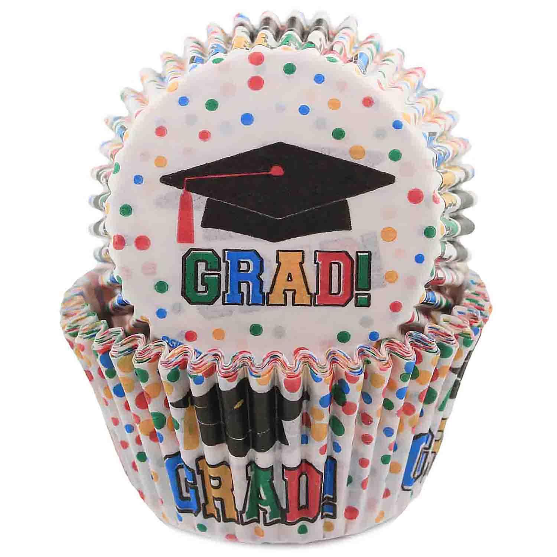Graduation Standard Baking Cups