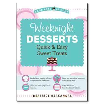 Ojakangas - Weeknight Desserts Book