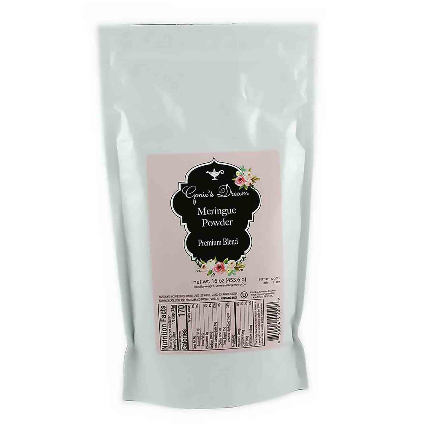 Genie's Dream Premium Blend Meringue Powder