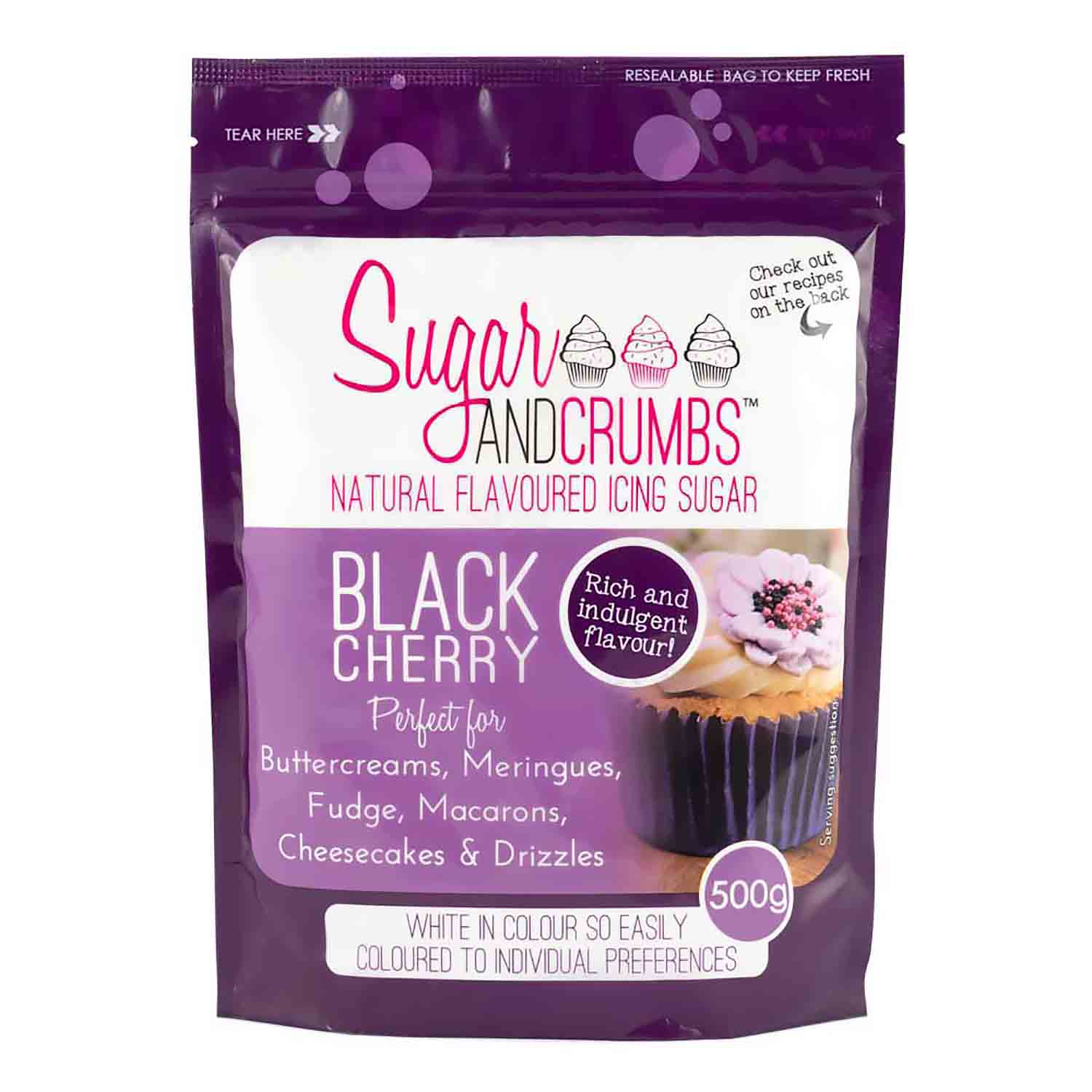 Black Cherry Icing Sugar
