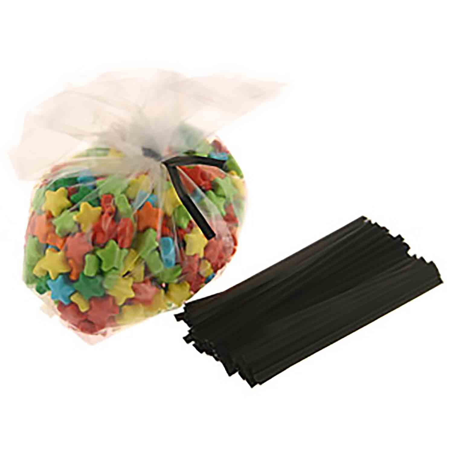 Twisties - Black Twist Ties
