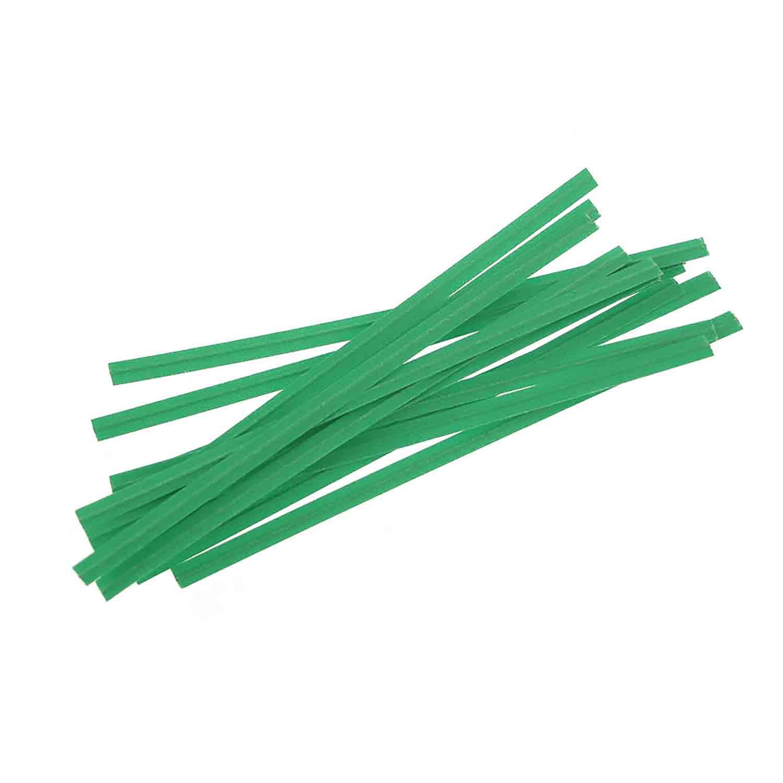 Country Kitchen Fort Wayne: Twisties - Green Twist Ties - SHB-TGRNPP