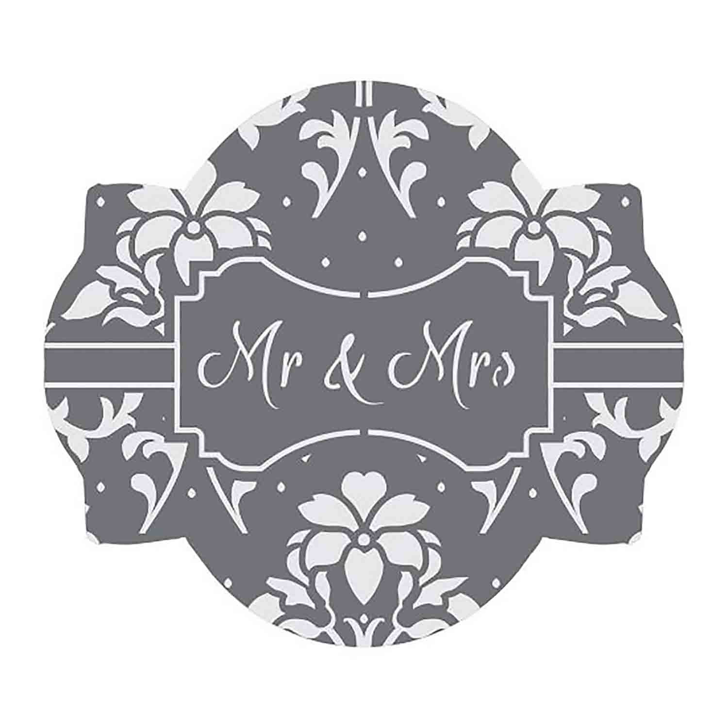 Mr. & Mrs. Cookie Stencil Set by Julia M Usher