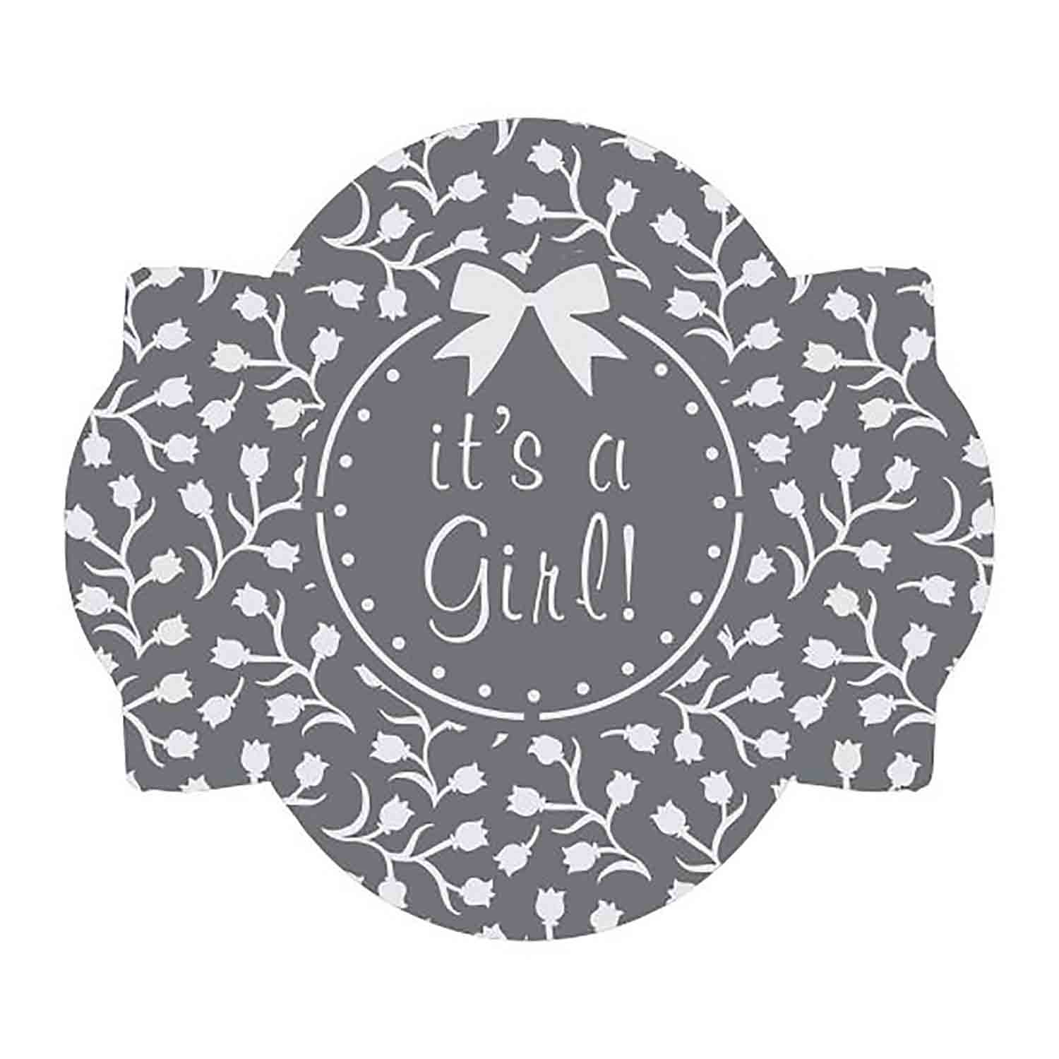 It's A Girl Cookie Stencil Set