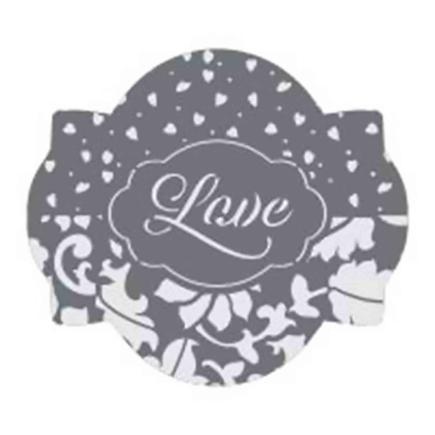Love 2 Cookie Stencil Set by Julia M Usher