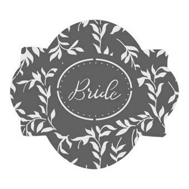 Bride Cookie Stencil Set