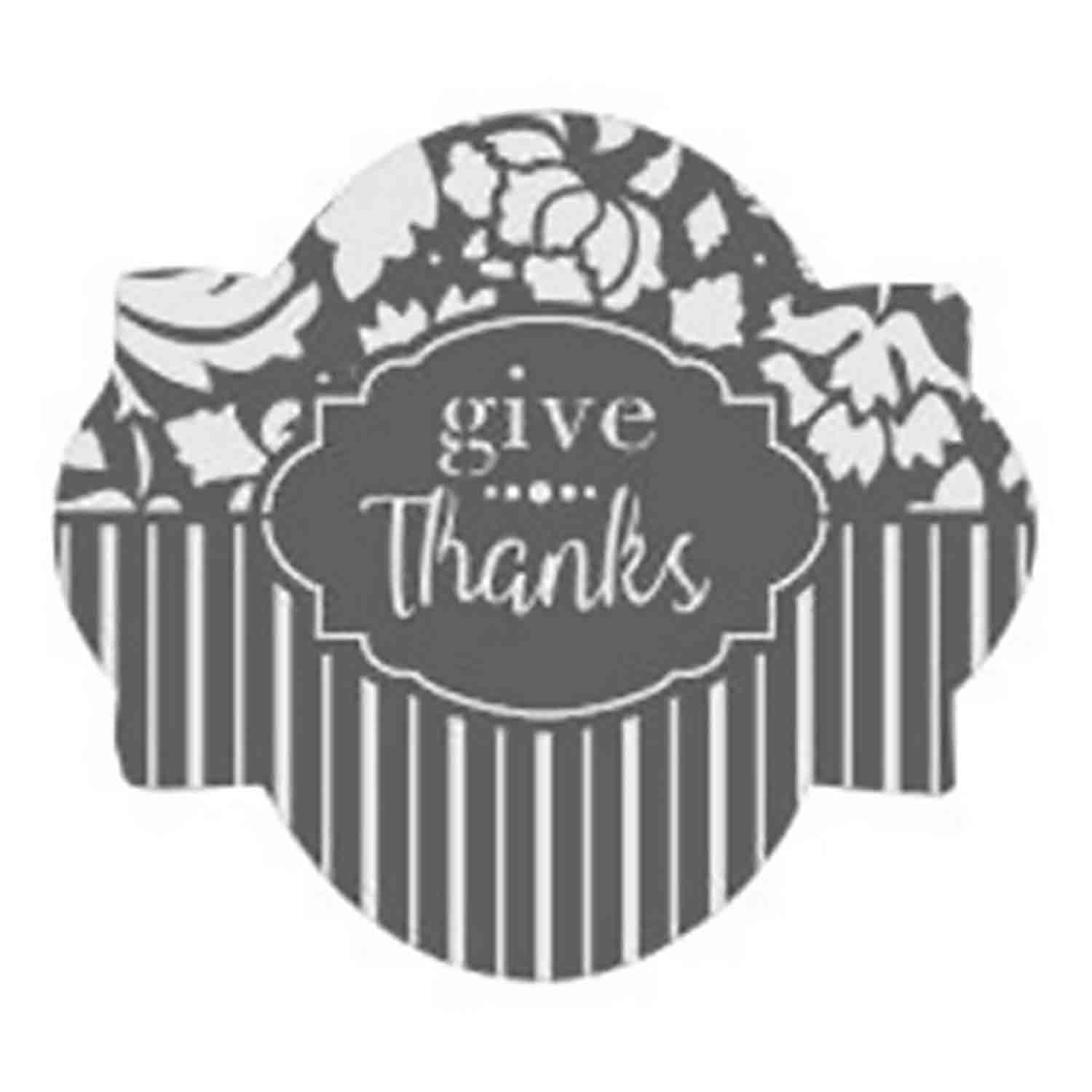 Give Thanks Cookie Stencil Set by Julia M Usher