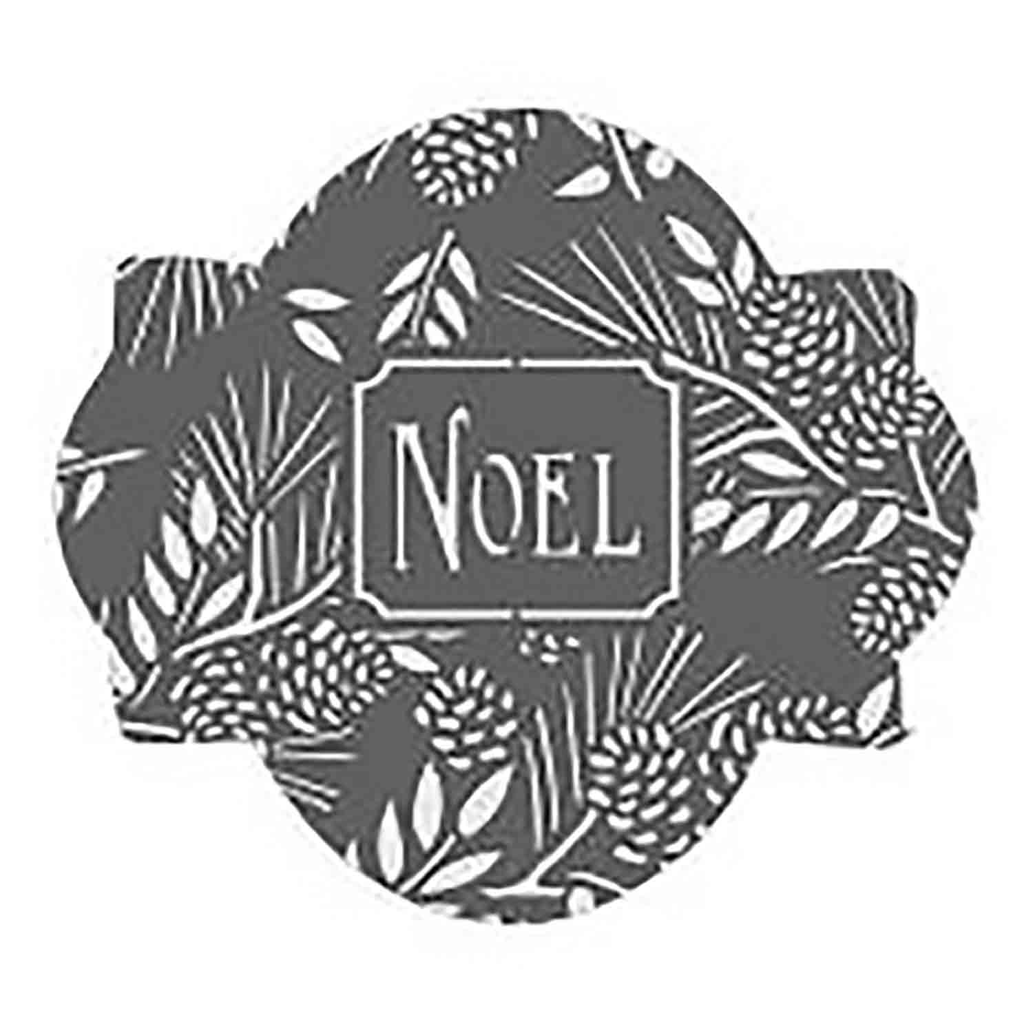 Noel Cookie Stencil Set by Julia M Usher