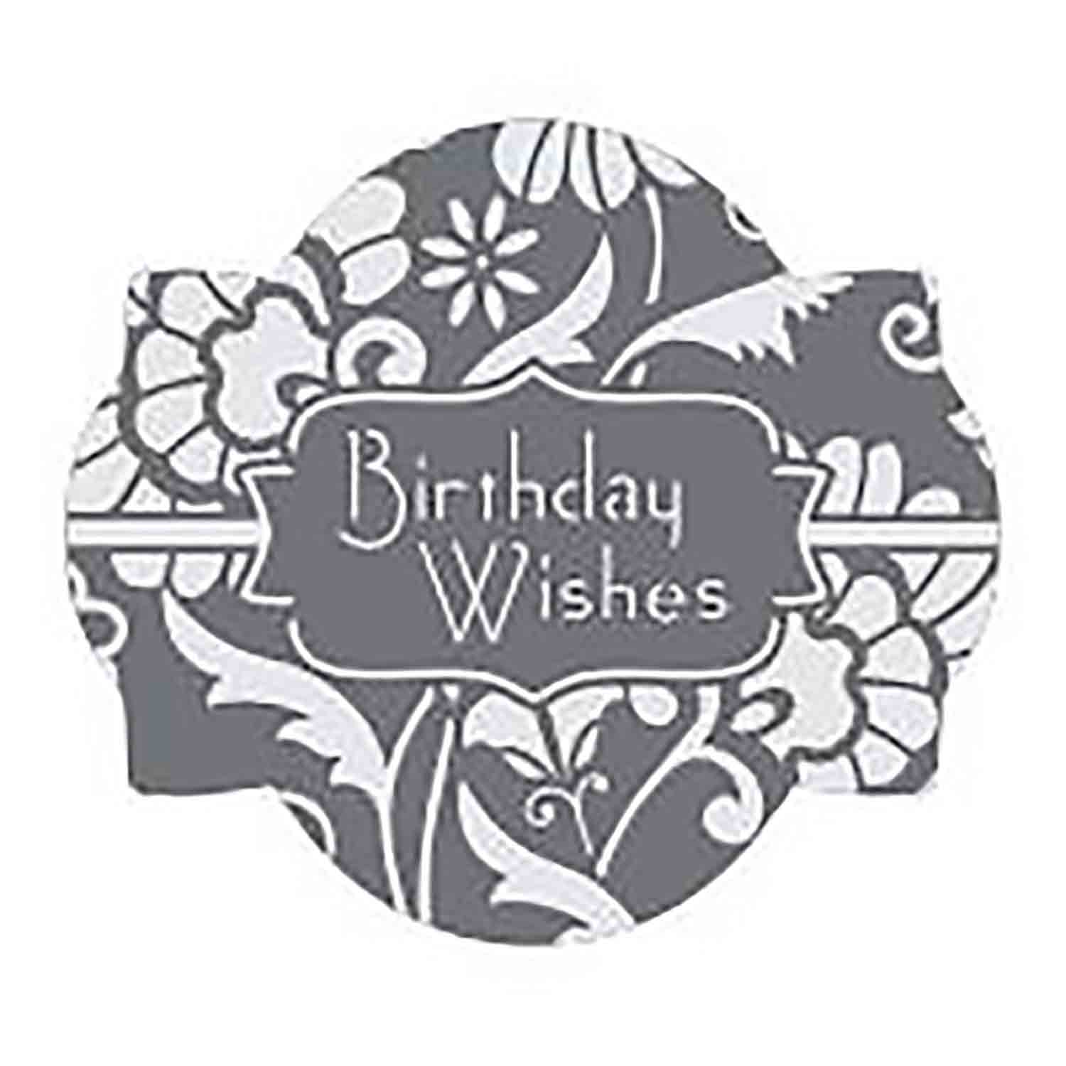 Birthday Wishes Cookie Stencil Set by Julia M Usher