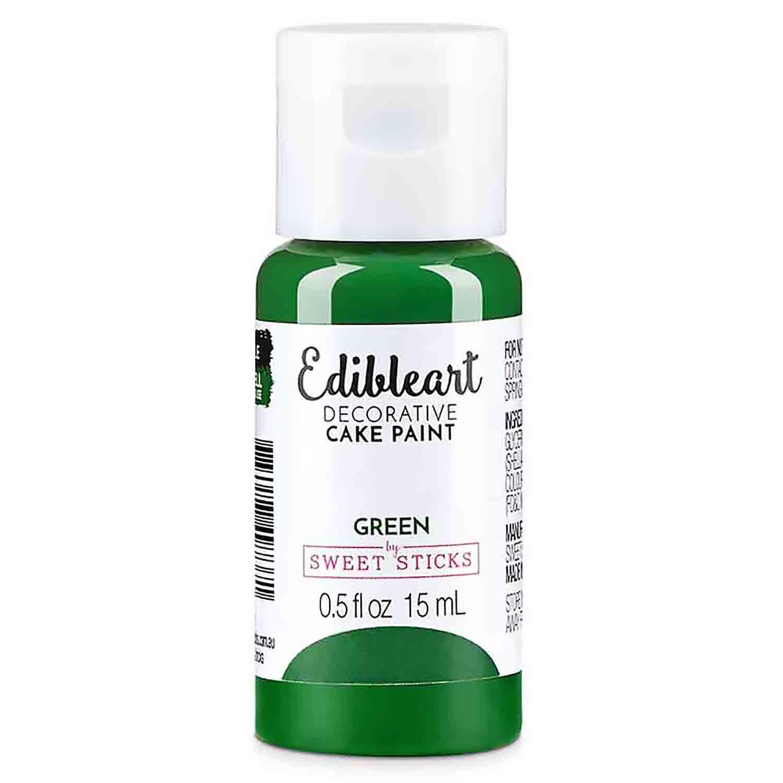 Green Edible Art Decorative Paint