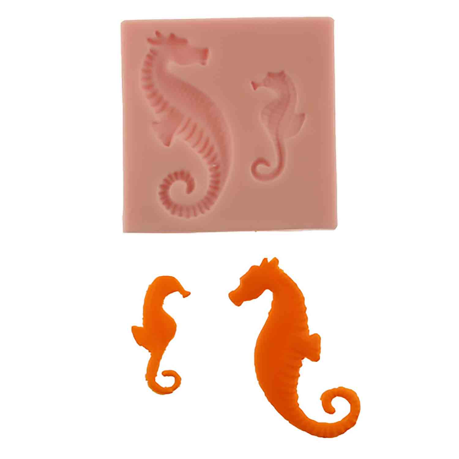 Sea Horses Silicone Mold
