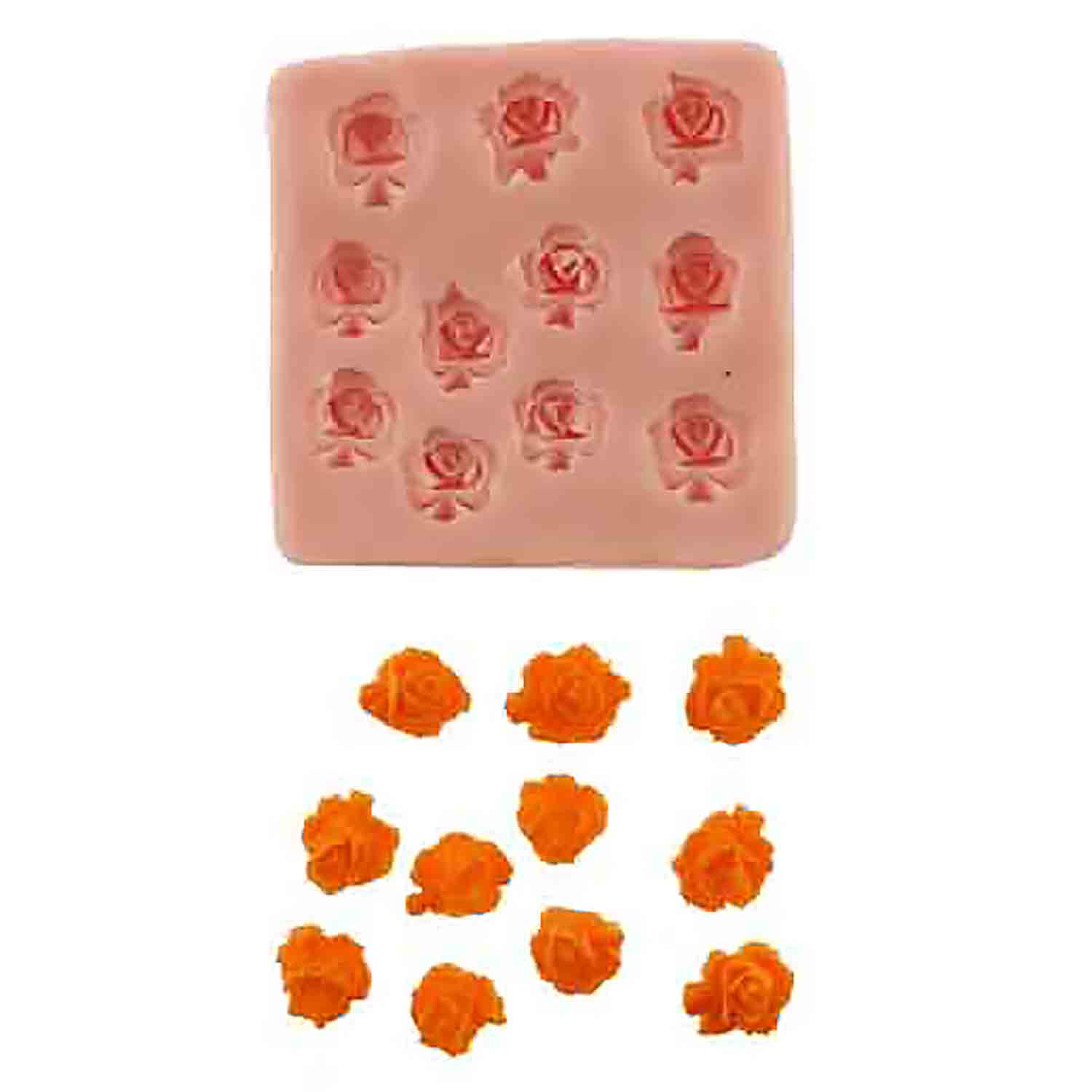 Lots of Roses Silicone Mold