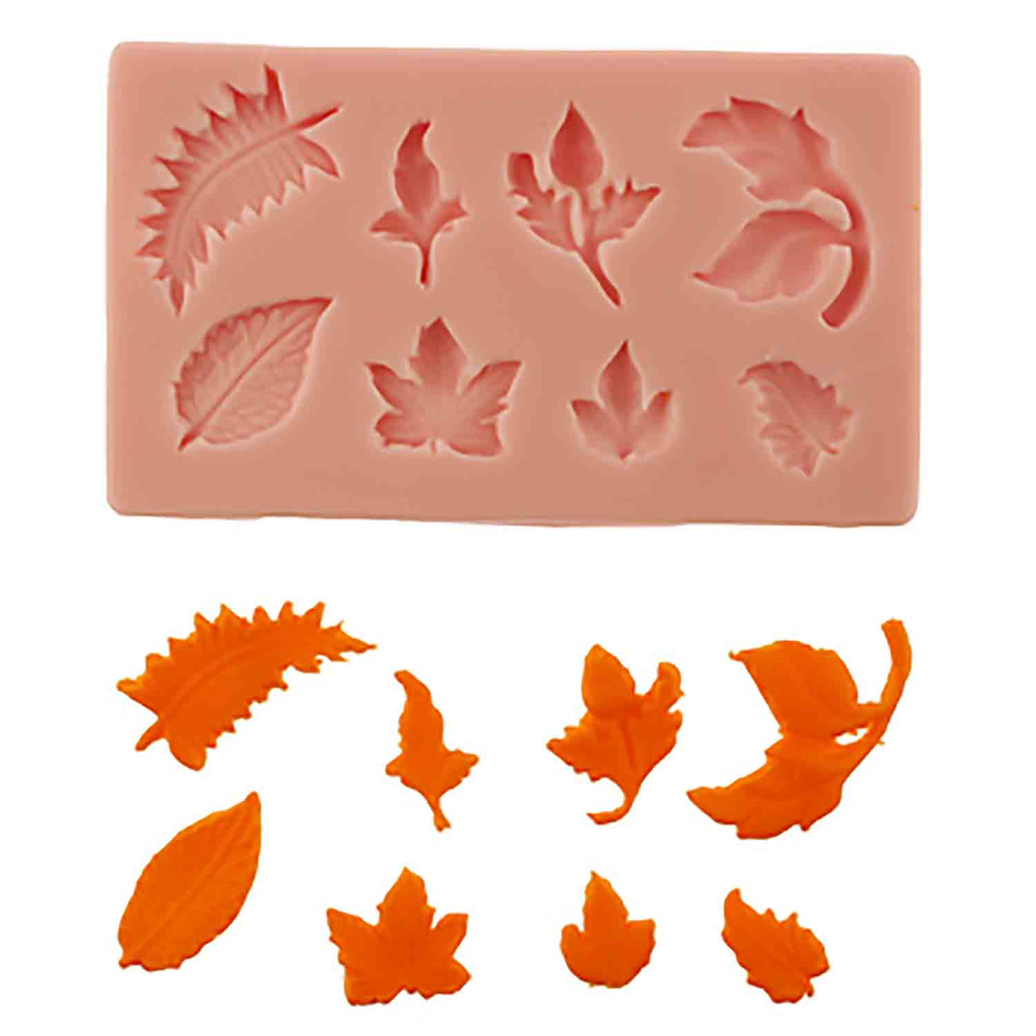 Leaves #2 Silicone Mold