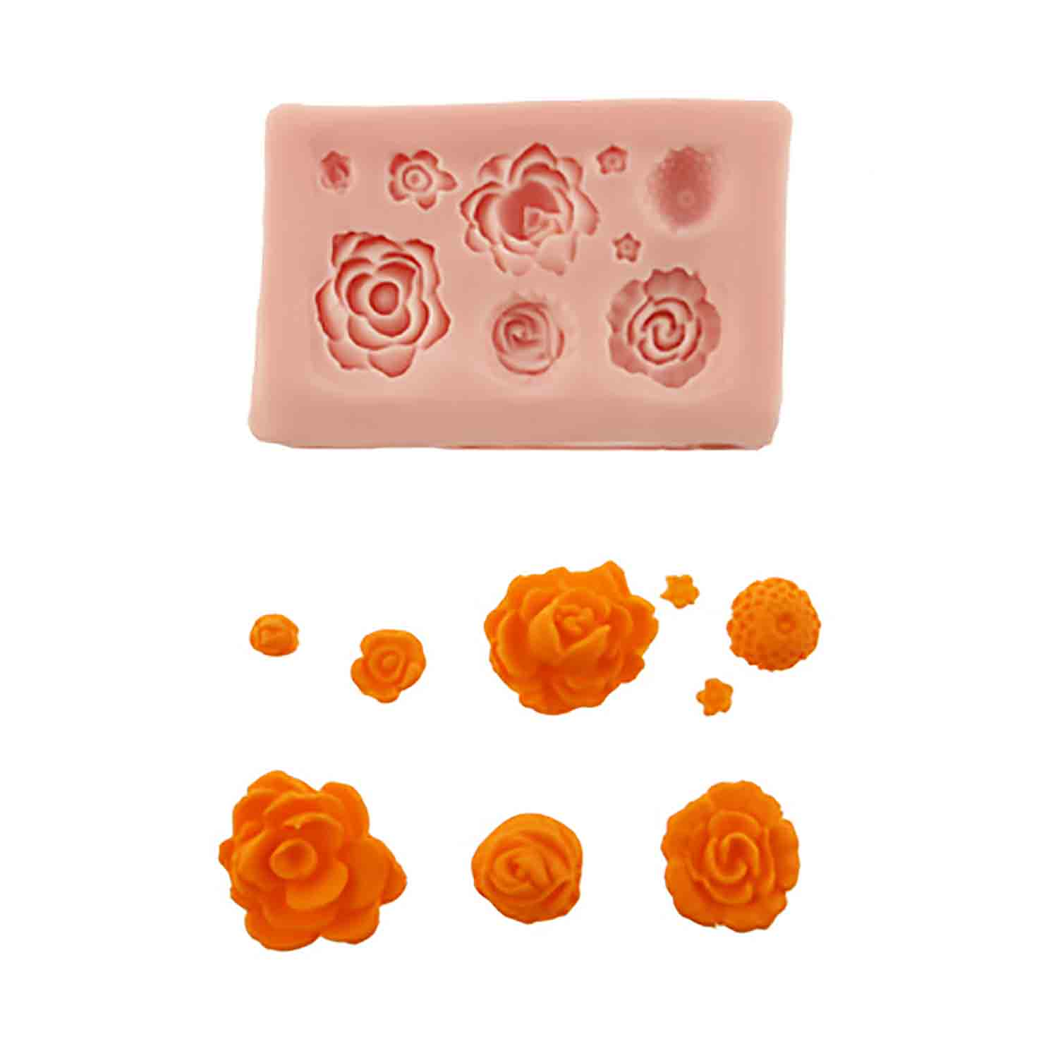 More Roses Silicone Mold