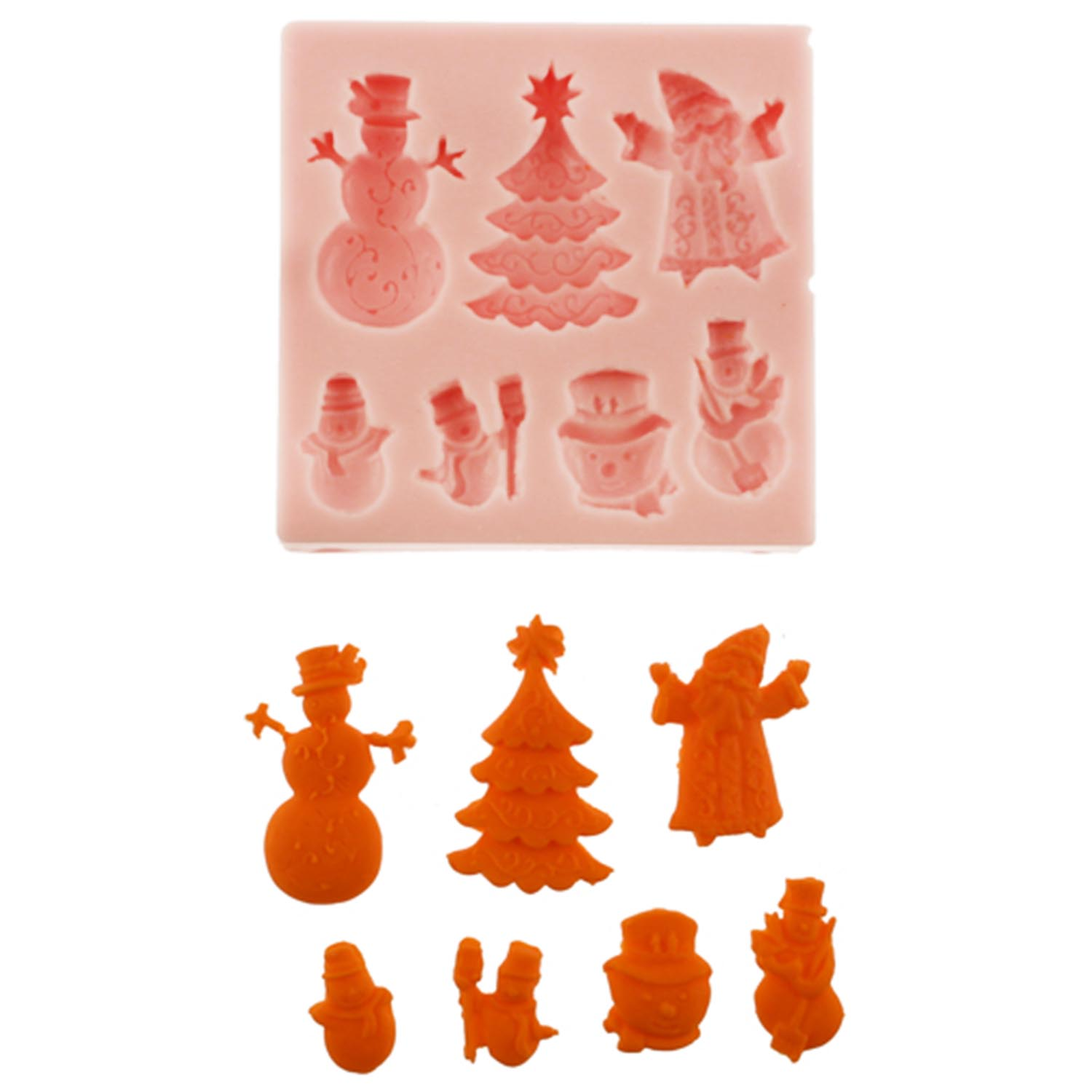 Christmas Assortment Silicone Mold