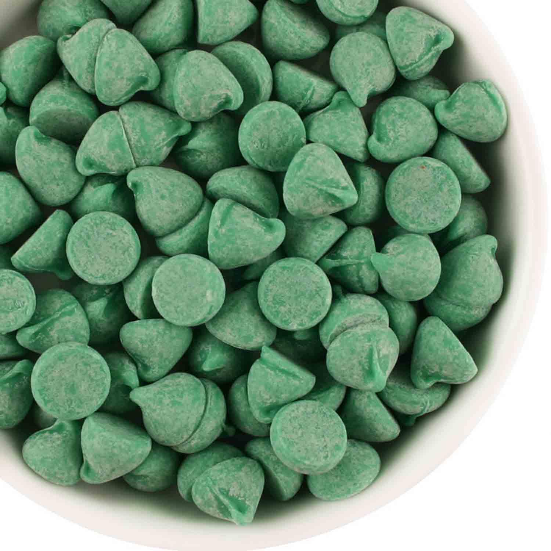 Guittard Green Mint Baking Chips 1M