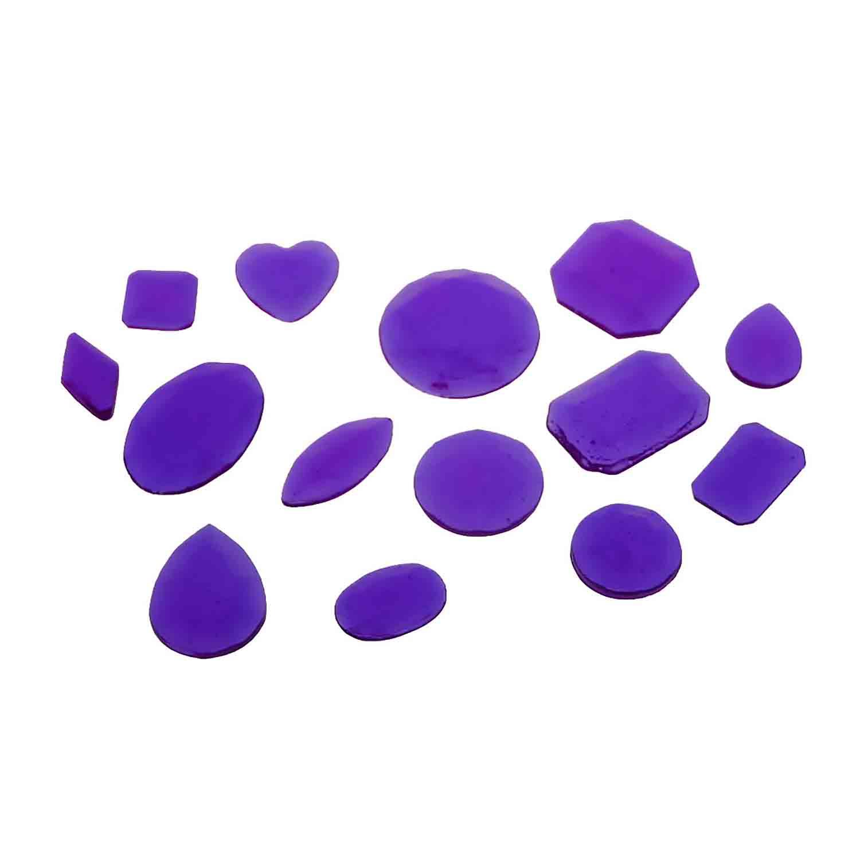 Purple Assorted Size Jewels