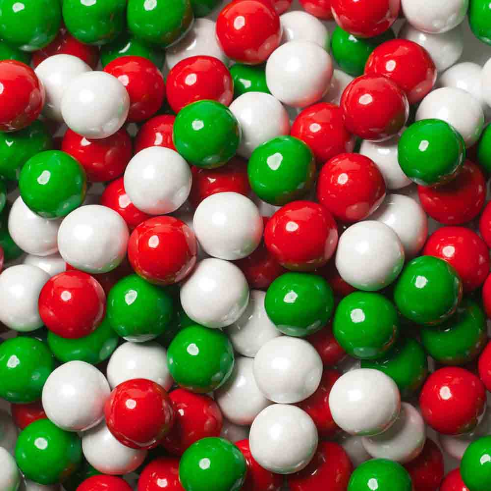 10mm Christmas Mix Sixlets