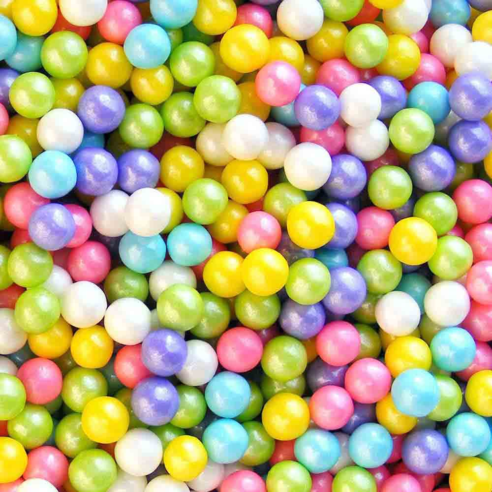 6mm Spring Mix Shimmer Pearls