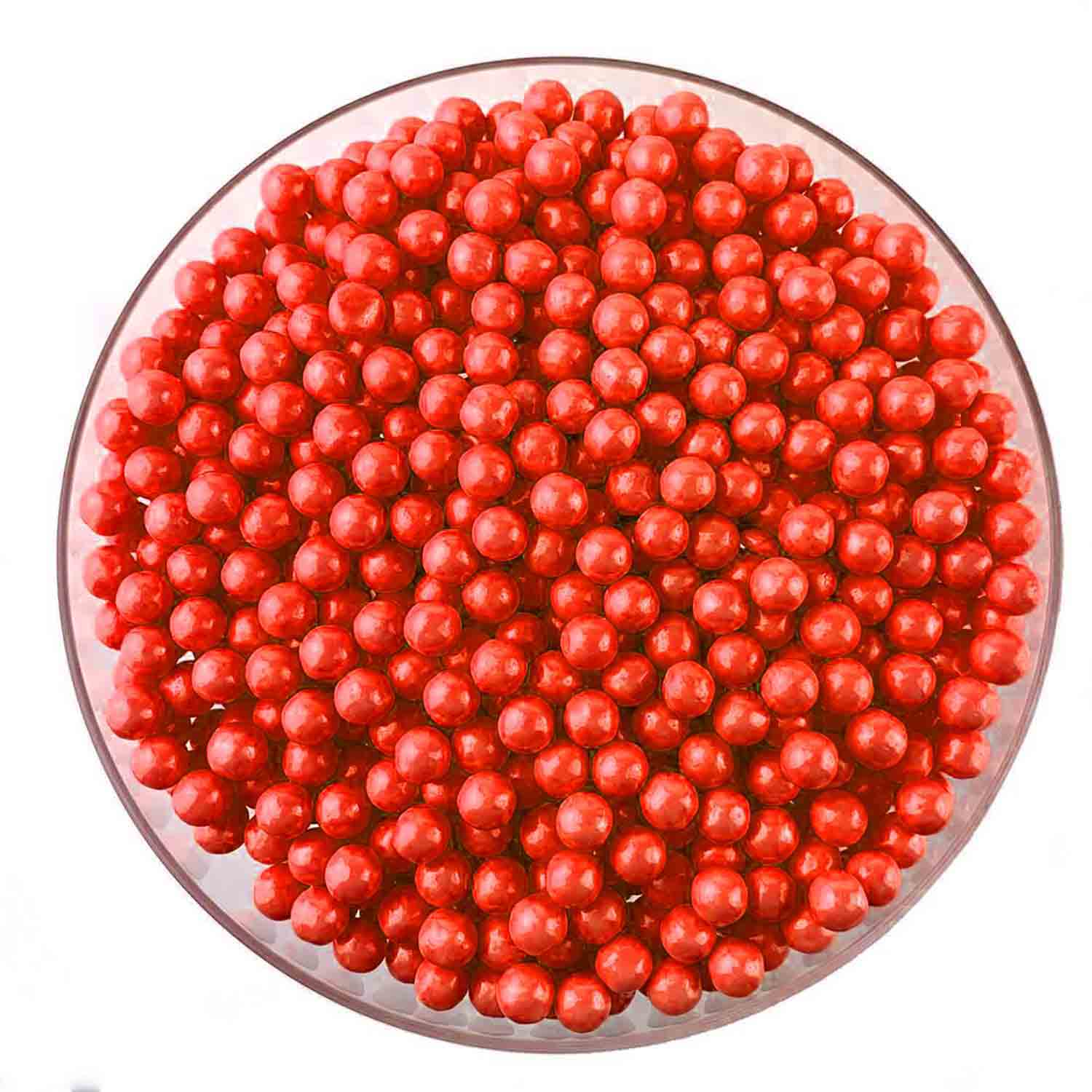 7mm Red Sugar Pearls