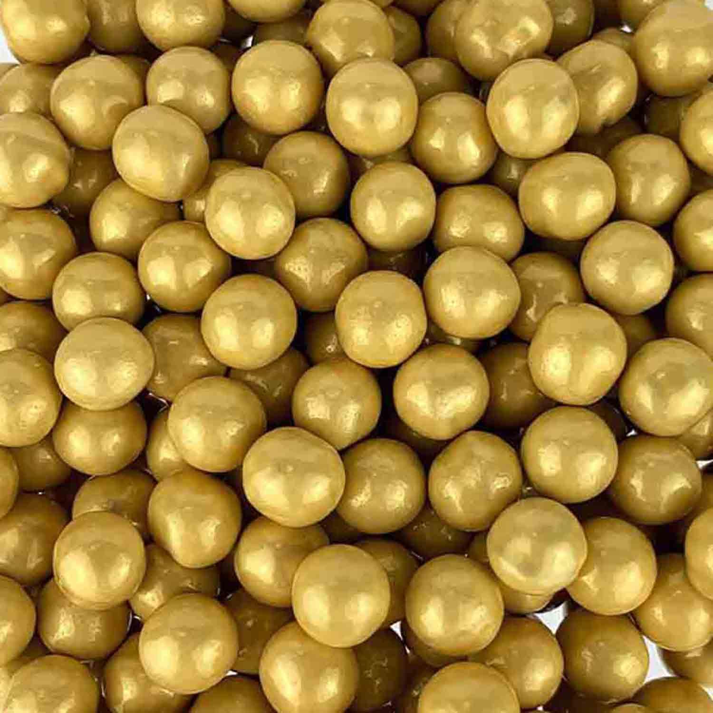 10mm Gold Shimmer Sixlets