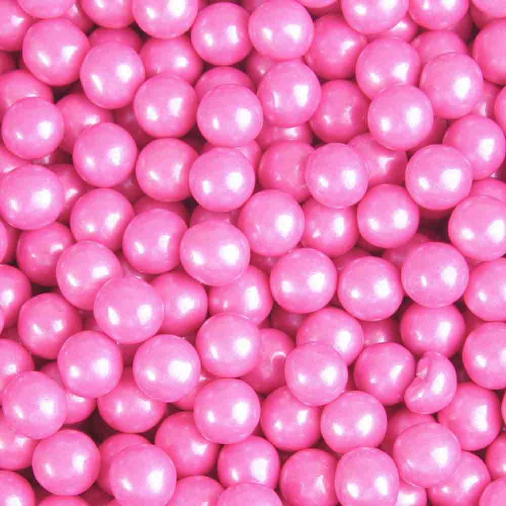 Bright Pink Shimmer Sixlets
