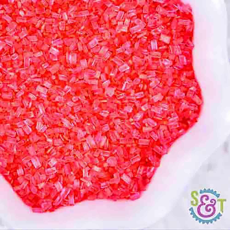 Coral Coarse Sugar