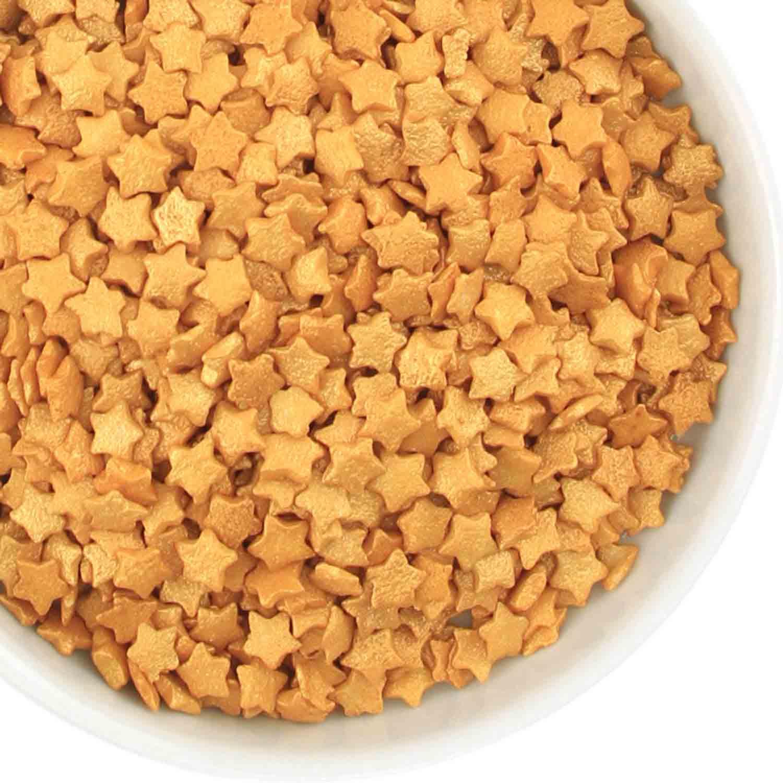 Gold Star Quin Sprinkles