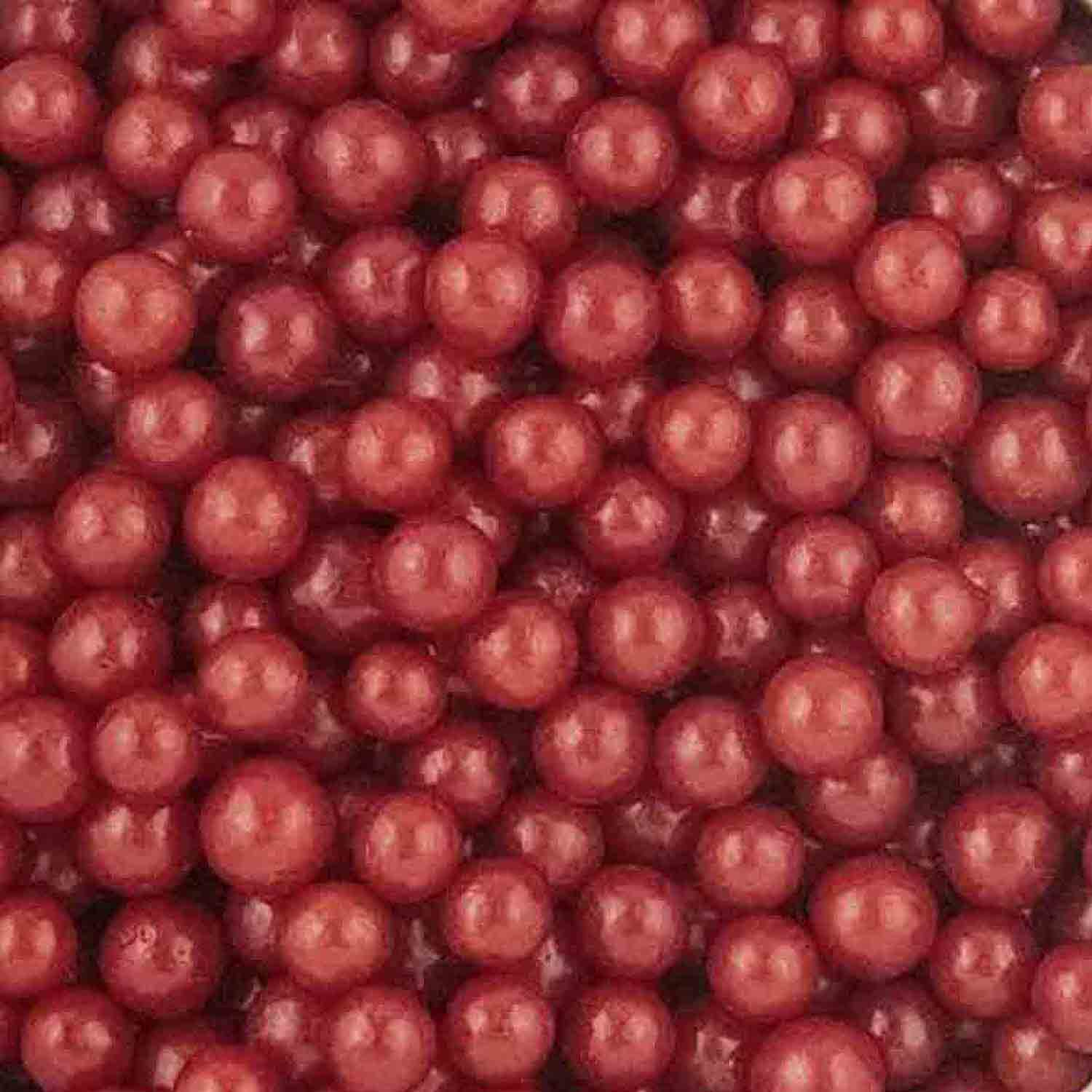5mm Red Midi Sugar Pearls