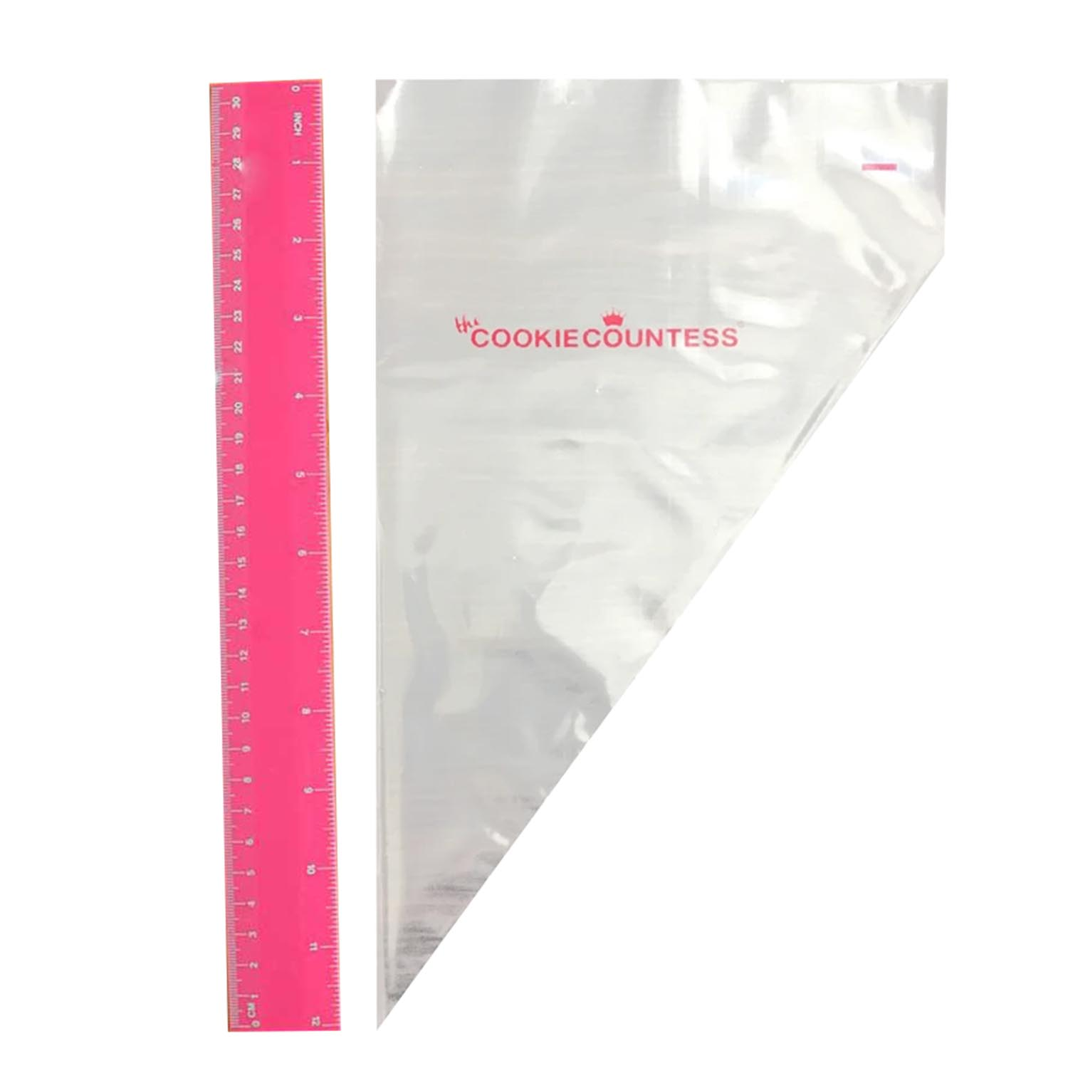"12"" 55 Micron Tipless Bags"