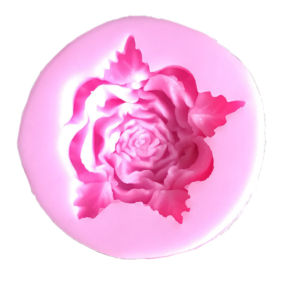 Medium Rose Silicone Mold