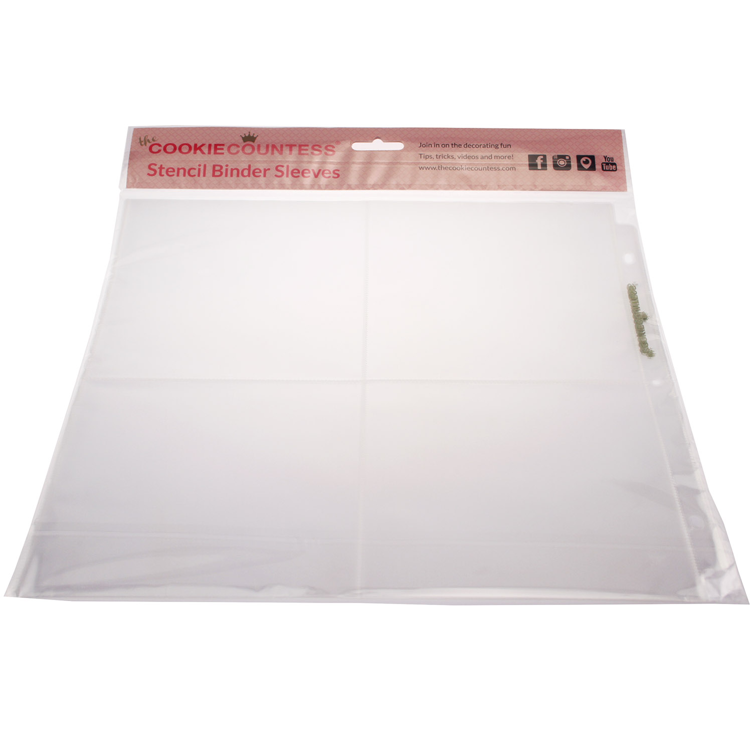 Stencil Binder Sleeves