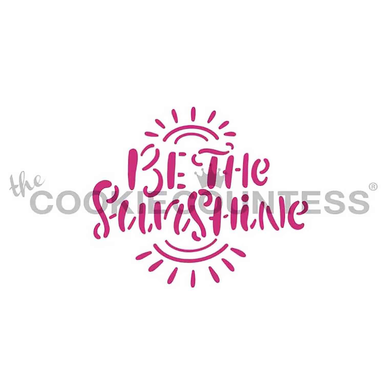 Be the Sunshine Stencil
