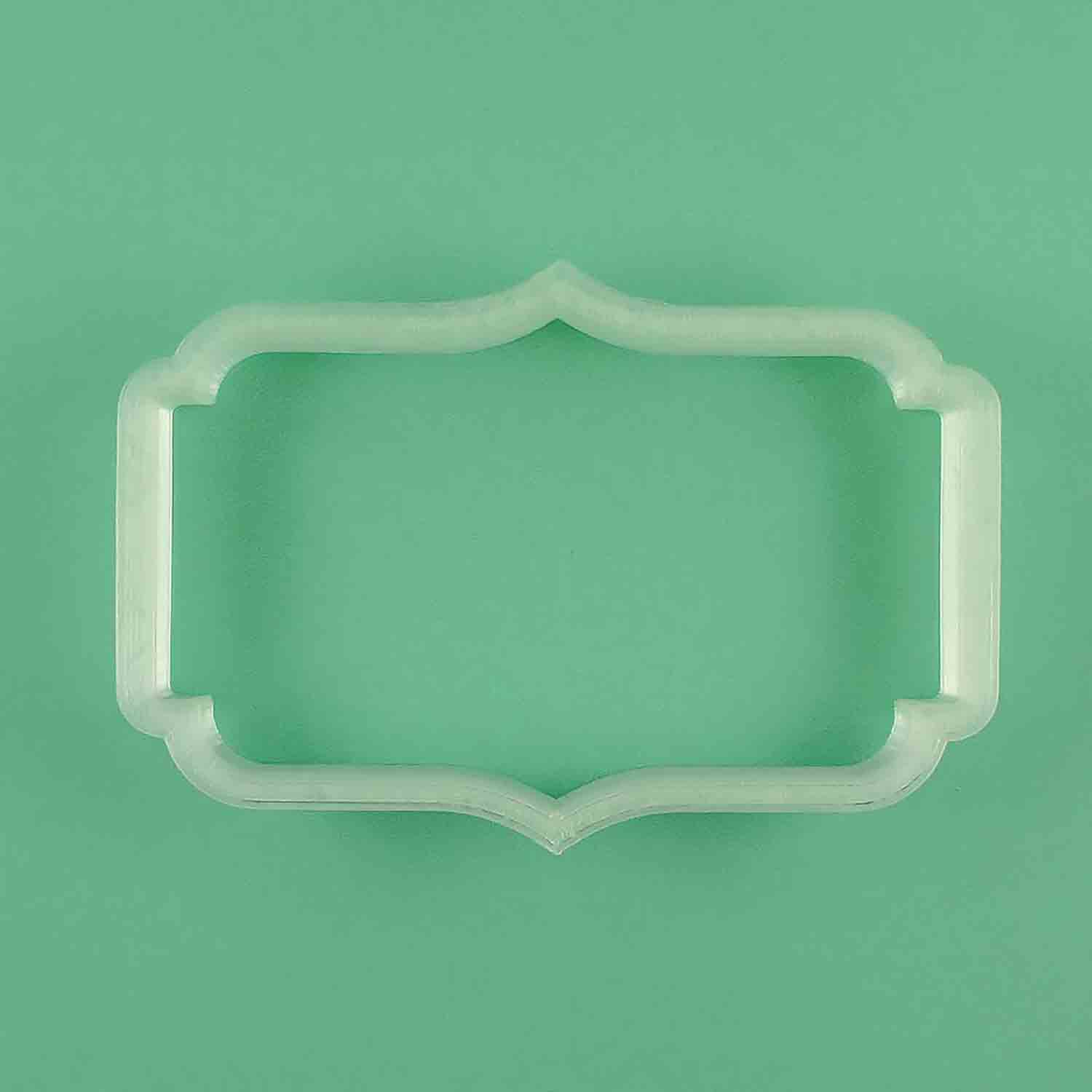 Rhode Island Plaque Cookie Cutter
