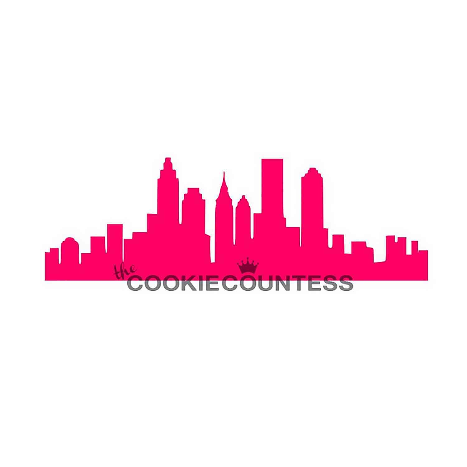 City Skyline Cookie Stencil